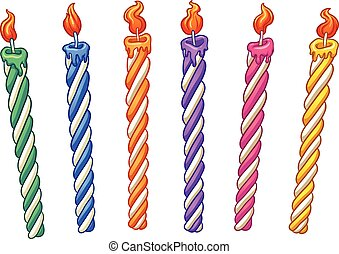 birthday candles illustrations and clip art 25 691 birthday candles rh canstockphoto com birthday candle pictures clip art birthday candle clip art images