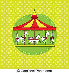 Birthday Card. carousel
