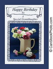 Birthday Card for  Granddaughter