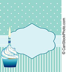 Birthday card template for boys