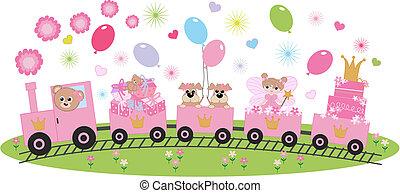 birthday celebration or invitation
