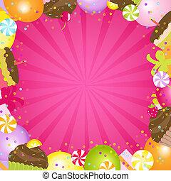 Birthday Color Frame