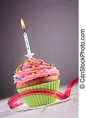 birthday cupcake