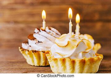 Birthday delicious cupcakes. - Birthday delicious cupcakes...