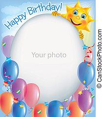 Birthday frames for photos 2