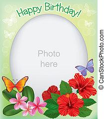 Birthday frames for photos