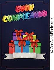 birthday gift italian