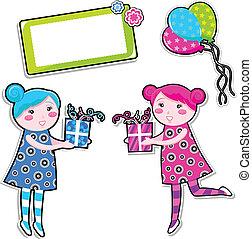 birthday girls set