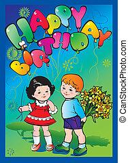 birthday., glade