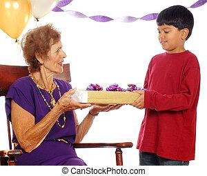 birthday, grandma's, 偉人