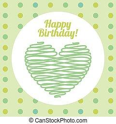Happy Birthday Invitation Card Vector Illustration Design Vectors - Birthday invitation card eps