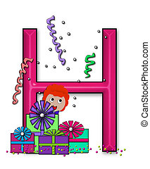 Birthday Letters H