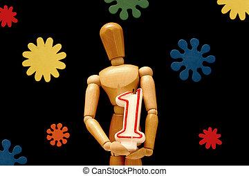 Birthday mannequin 3