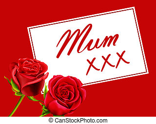 Birthday / Mother's Day card to Mum - Birthday or Mother's...