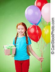 Birthday of a girl