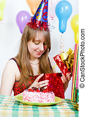 Birthday of a young girl