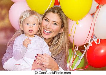 Birthday of baby girl