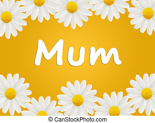 Birthday or Mothers Day card to Mum