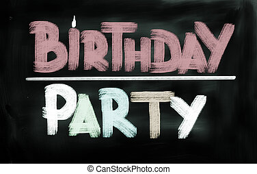 Birthday Party Concept