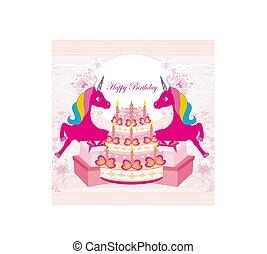 birthday party, unicorn, party cartoons
