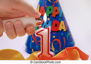 Birthday scene 5