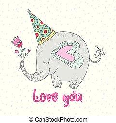 Birthday vector illustration.