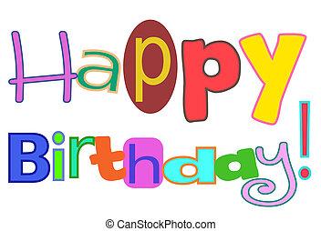birthday!, vrolijke