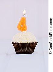 Birthday's cake for fourth birthday