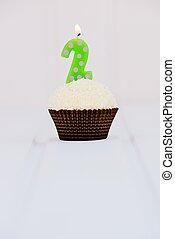 Birthday's cake for second birthday