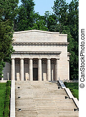 Birthplace of Abraham Lincoln - Memorial Building housing a...