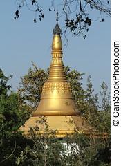 Birthplace of Buddha in Lumbini Nepal