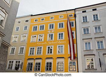 Birthplace of Mozart, Salzburg - Birthplace of Wolfgang...