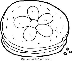 biscoito, caricatura