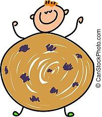 biscoito, criança