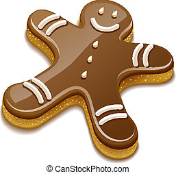 biscoito doce, chocolate, human, feriado, natal