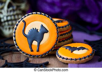 biscoitos, dia das bruxas