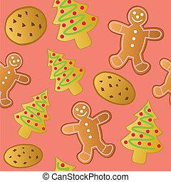 biscoitos, feriado, seamless