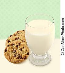 biscoitos, leite