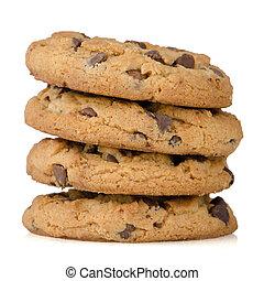 biscoitos, pilha
