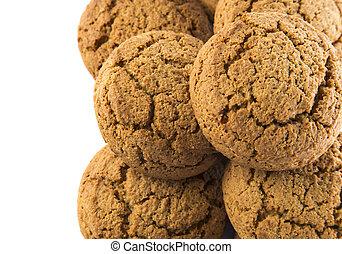 biscotti, mucchio