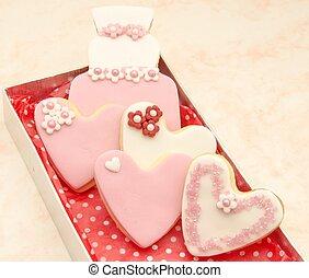biscuits, décoré