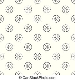 Biscuits pattern vector seamless