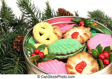 biscuits, sous, arbre