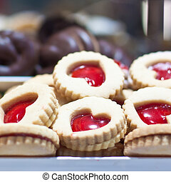 biscuits, valentin