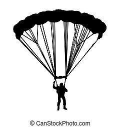 bis.eps, paracaidista