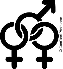 Bisexual sign