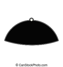 Bishop hat silhouette - Isolated bishop hat silhouette....