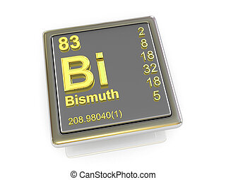 Bismuth. Chemical element.