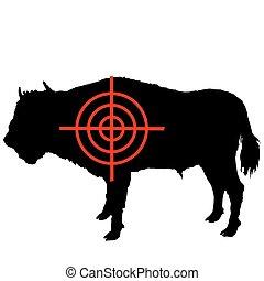 bisonte, crosshair