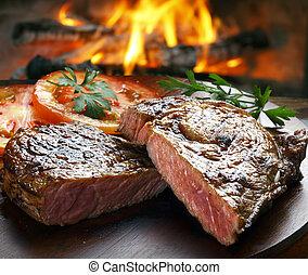 bistecca, bbq